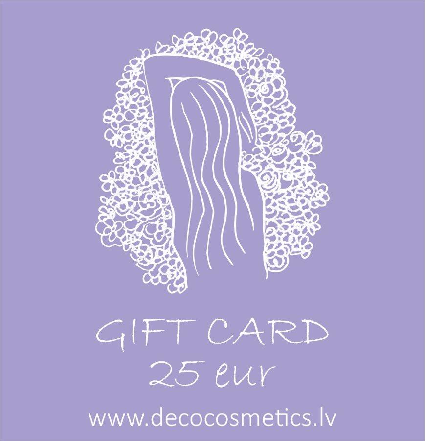 Gift card 25 EUR value for She