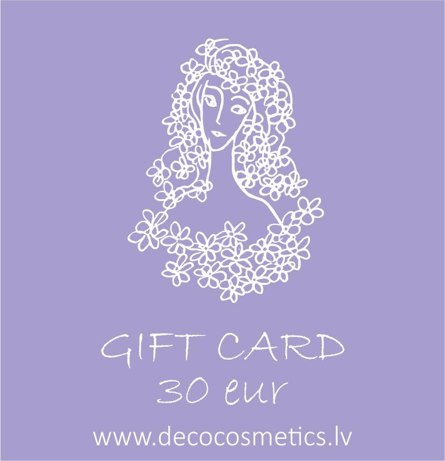 Gift card 30 EUR value for She