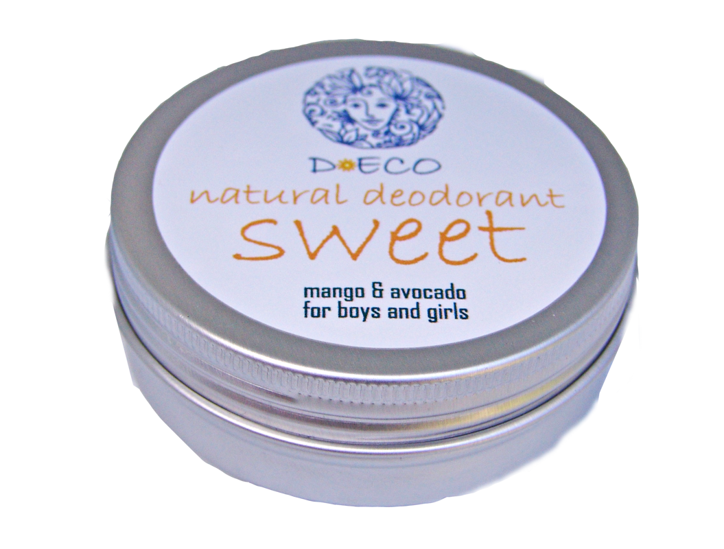 D.Eco Deo SWEET for girls VEGAN